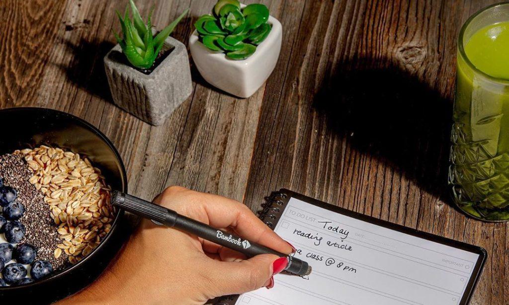 Uitwisbare notitieboekjes Bambook