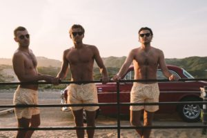 Zwembroeken van gerecyclede petflessen, de redfeet brothers